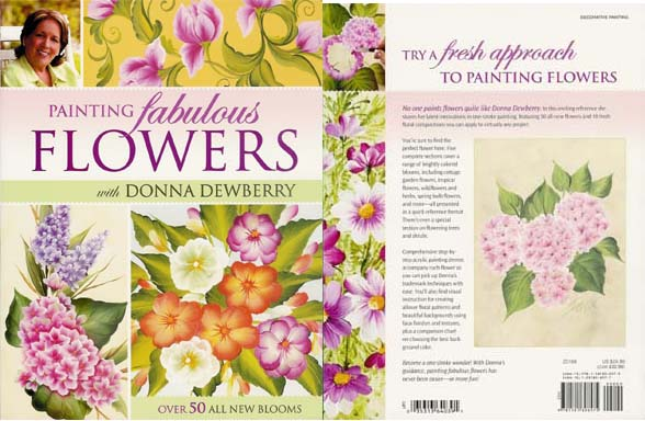 1 Stroke Z0168 Painting Fabulous Flowers With Donna Dewberry